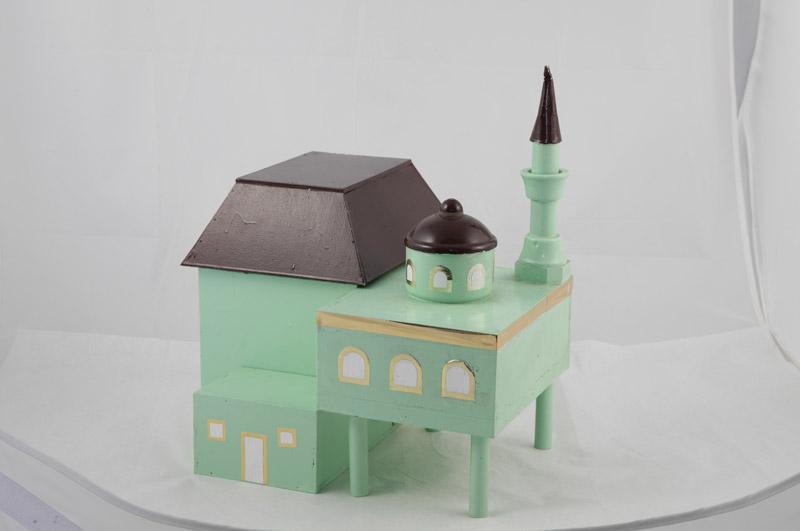 Modell der Moschee